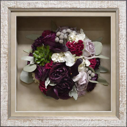 How much is wedding bouquet flower preservation?