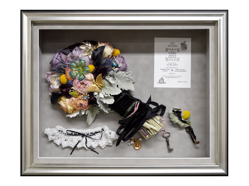 Shadow Box flower preservation prices.