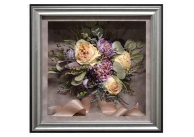 Wedding Flower Preservation in a Shadow Box