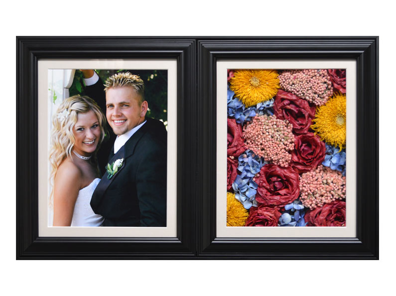 Fantastic Blooms can preserve your wedding bouquet flowers and encase them in affordable, unique shadow boxes.