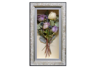 Shadow Box w/ Preserved Roses