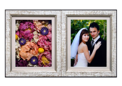 Double Frame Pavé Shadow Box