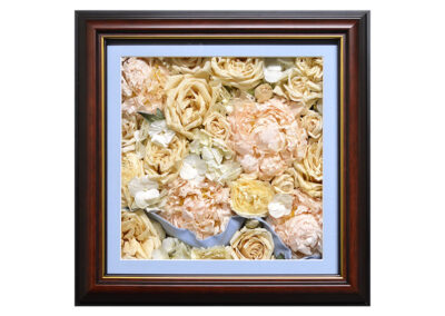 Pavé Shadow Box w/ Preserved Bouquet
