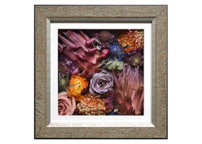 Pavé Shadow Box w/ Preserved Wedding Flowers