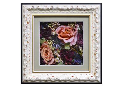 Pavé Shadow Box w/ Preserved Flowers
