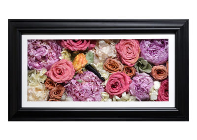 Pavé Shadow Box w/ Preserved Flowers