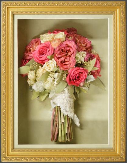How much is wedding bouquet flower preservation?
